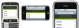 Mobile websites and mobile web apps that look and feel native on iPhone and Android touch devices